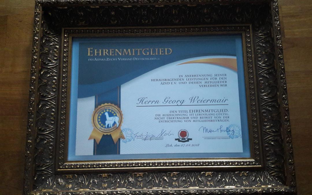 Auszeichnung für Georg